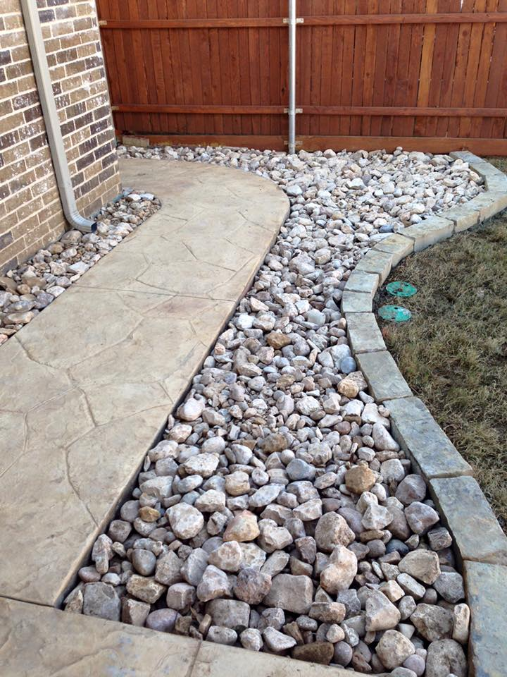 View Larger Image River Rock Beds | Landscape Design and Installation - River Rock Beds Remodeling Contractor Complete Solutions