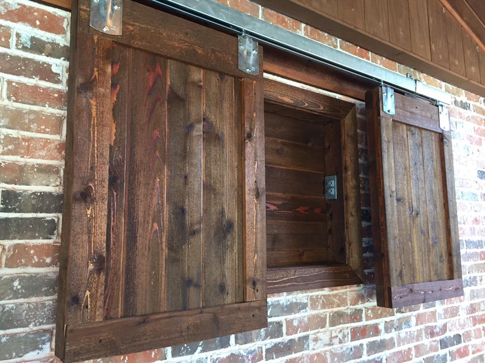 Barn Door Style Outdoor Tv Cabinet Remodeling Contractor