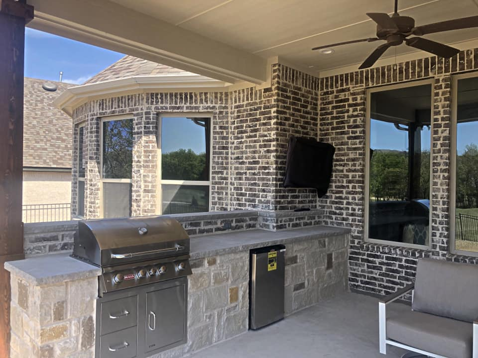 Outdoor Kitchen Patio Remodeling Contractor Complete Solutions Flower Mound Tx